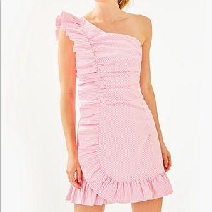 Lilly Pulitzer TIFFANI Havana Pink Dress size 6